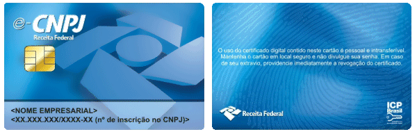 e-CPNJ A3 sample smart-card